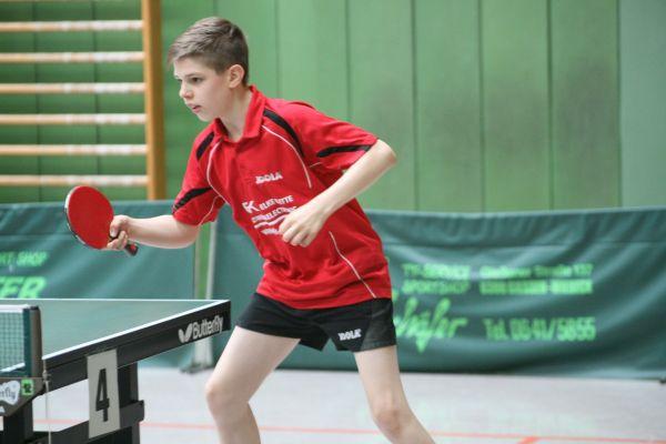 Christian Gajarszky bei den 32. Pokalmeisterschaften
