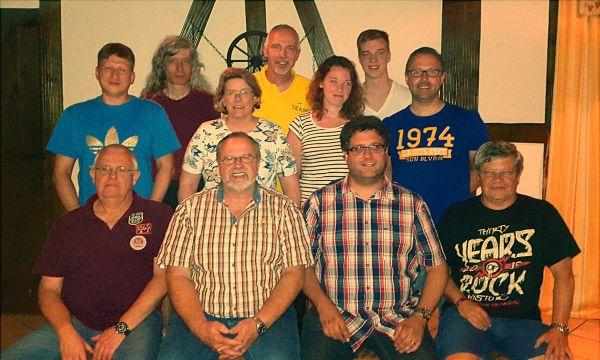 Der Vorstand des TTC Florstadt