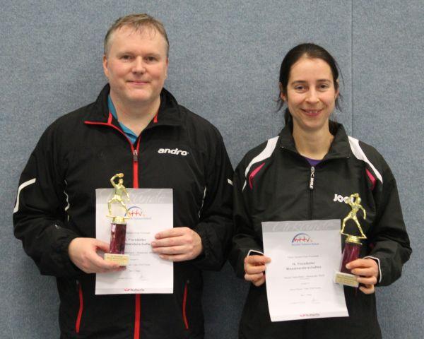 Die Sieger der Klasse M1 A.Weiß und N.Aeberhard