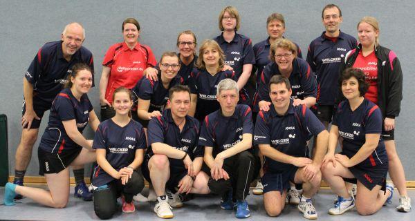 Mixed-Teilnehmer des TTC Florstadt