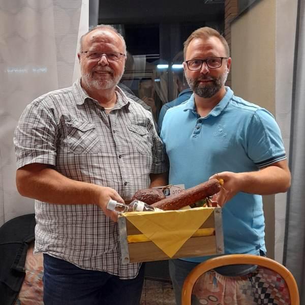 Karl-Heinrich Albus mit Stefan Koch