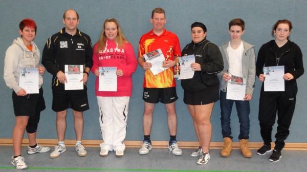 Die Sieger im Mixed 2013